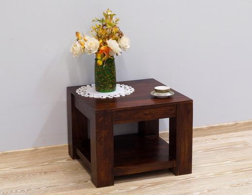 Stolik z półką indyjski