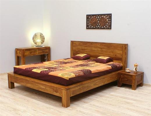 Łóżko kolonialne indyjskie