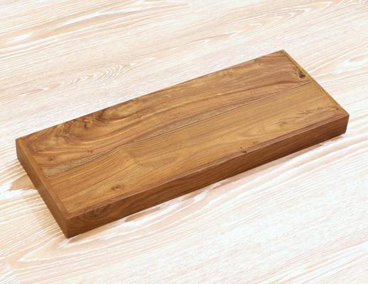Półka drewniana indyjska kolonialna