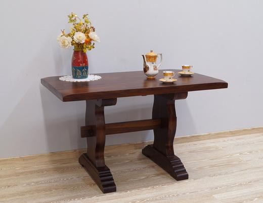 Stół indyjski kolonialny z litego drewna