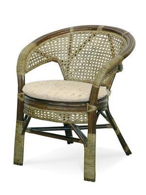 Fotel rattanowy