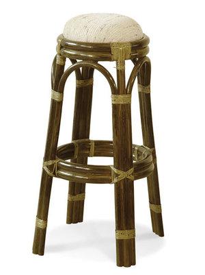 Krzesło barowe z rattanu