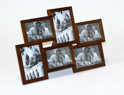 Ramka na zdjęcia rodzinna drewniana