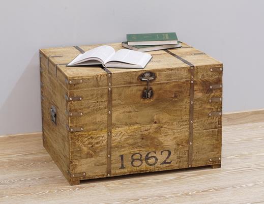 Kufer kolonialny w stylu LOFT