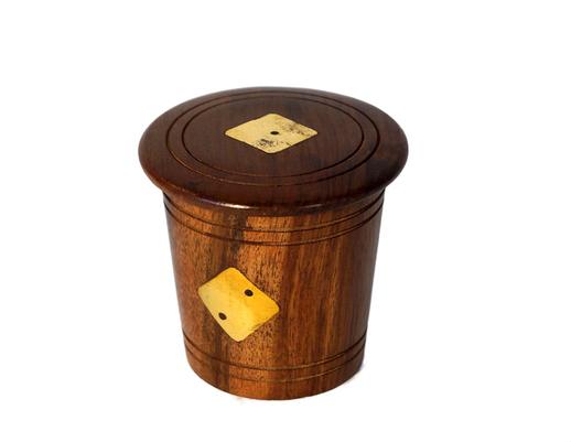 Drewniana indyjska gra w kości