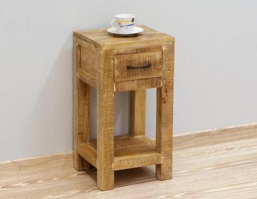 Stolik z szufladką w stylu LOFT