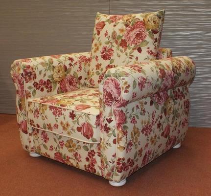Fotel w stylu angielskim
