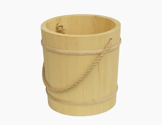 Wiadro drewniane