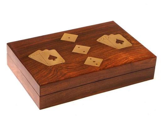 Pudełko na kości i karty
