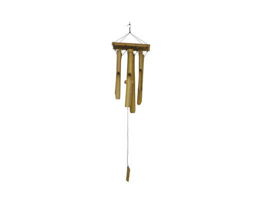Dzwonek wietrzny gong egzotyczny z bambusu
