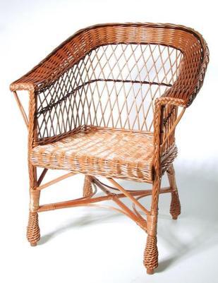 Fotel wiklinowy kolor