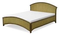 Łóżko rattanowe