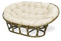 Sofa mamasan z rattanu