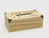 Pudełko na chusteczki z drewna