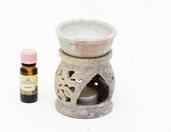 Indyjski podgrzewacz do olejków z kamienia