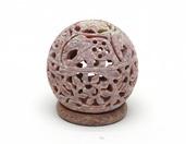 Indyjski świecznik z kamienia