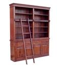 Biblioteka z drabinką kolonialna indyjska