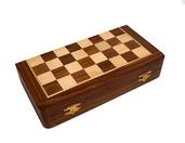 Drewniane indyjskie szachy