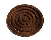 Drewniana indyjska gra labirynt