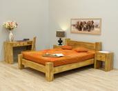 Łóżko indyjskie kolonialne