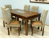 Komplet obiadowy stół + 6 krzeseł