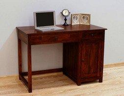 Indyjskie biurko kolonialne - funkcjonalny mebel w eleganckim wydaniu