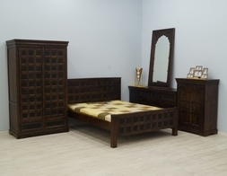 Arani - idealna koncepcja urządzenia domowego wnętrza stylizowanymi bryłami z litego drewna akacji indyjskiej