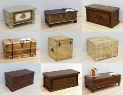 Indyjski kufer kolonialny - praktyczny dodatek egzotycznej sypialni czy przedpokoju
