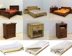 Indyjskie łóżka kolonialne z litego drewna egzotycznego - elegancja w orientalnym wydaniu.